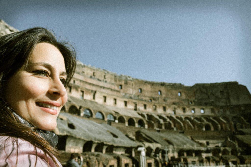 Raquel, en el Coliseo